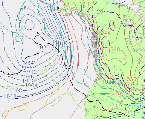 Far Out Christmas Eve Pressure and highalt temp