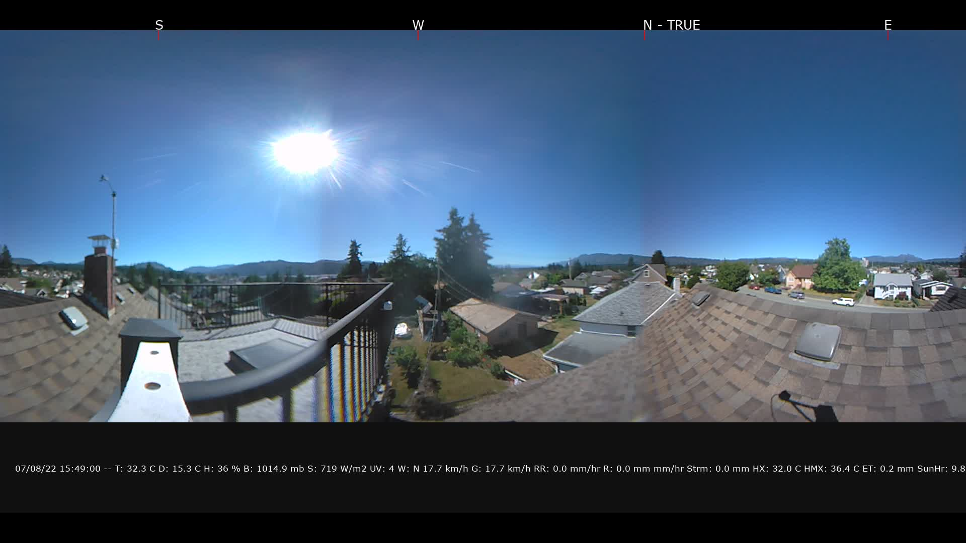 Still image of the Live Webcam