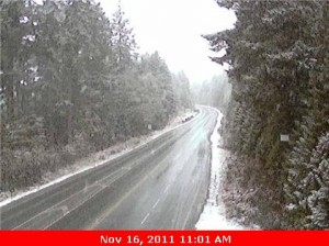 Nov 16 Snow on Hump (Hwy 4 East)
