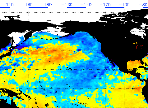 NE Pacific SST Anomaly March 29 2012