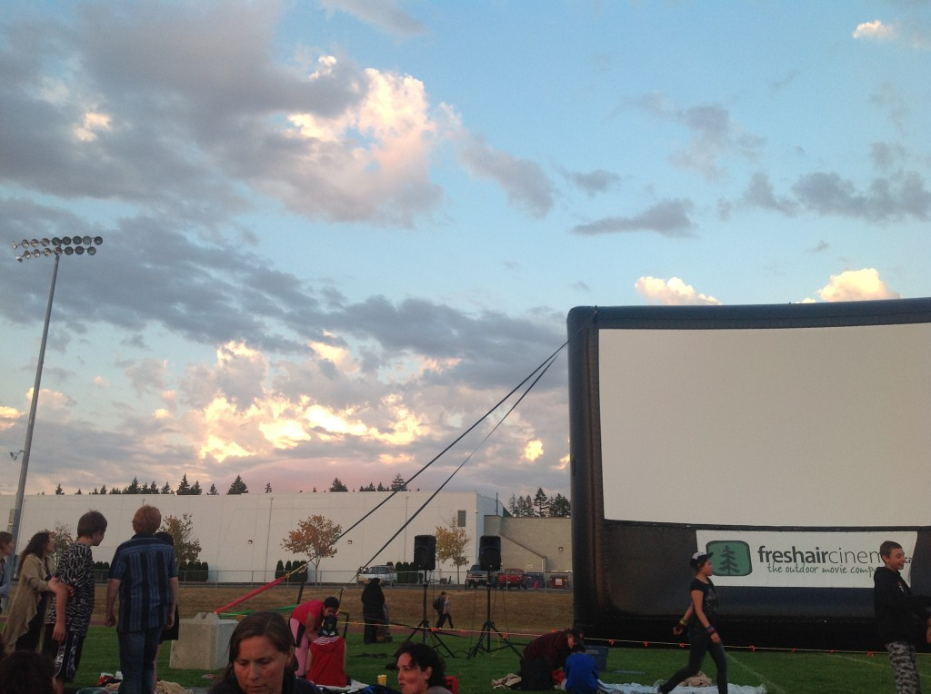 Building Clounds at 2012 Starlight Movie
