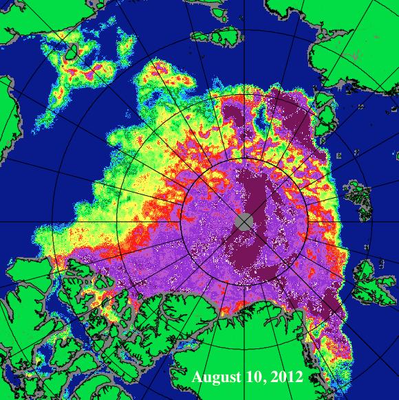 August 10, 2012 Sea Ice
