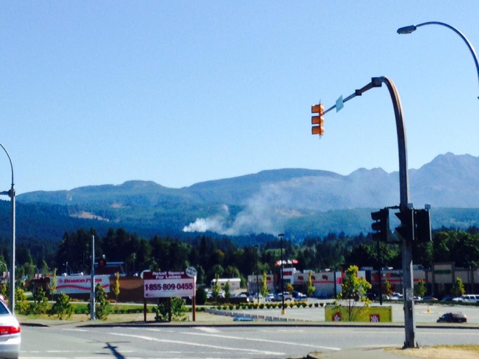Updated: Fire near the Hump – Have info please Share