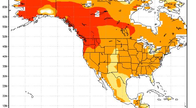 February 2015 Summary – Dry and Warm – No Snow
