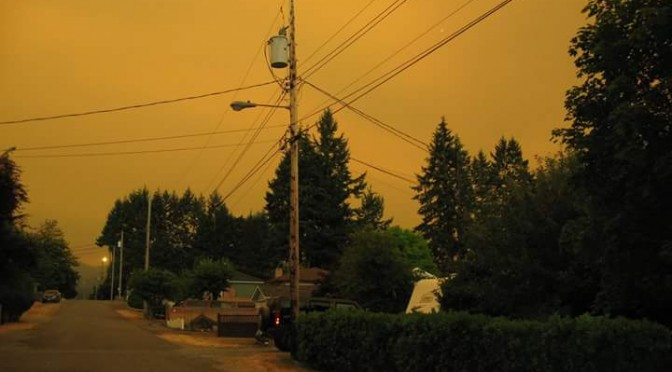 UPDATING – Incredible Yellow Morning – Fire Grown – Cool will help – Air Quality OK