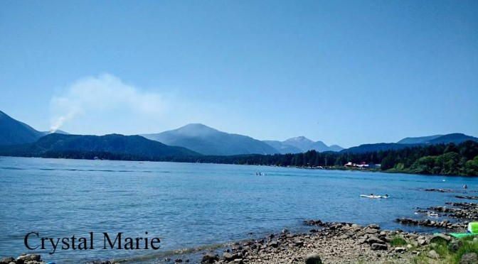 Small Wildfire near Sproat Lake – Wildfires spark all over Island and Province – Sparks new Petition for Mars