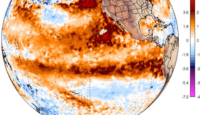 Heating up through Thursday – Hot Oceans – Crazy Tornados