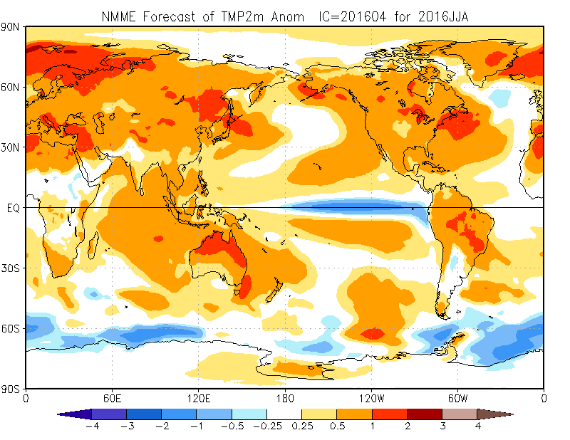 March 2016 Summary – Plenty of Records but extremes moderate as El Niño wanes.