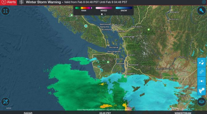 Final UPDATE 7:30PM Winter Storm Warning ended – here are the Details on when and where.