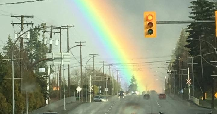 Powerful Rainbows between showers. Post your photos!