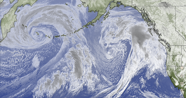 Record breaking Alaska storm spins rain our way. Happy New Year Thank you!