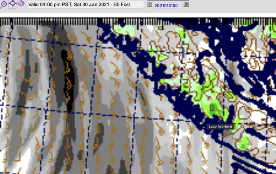 Rain on the way Friday night and Saturday – Might start as Snow – 4th AQ station