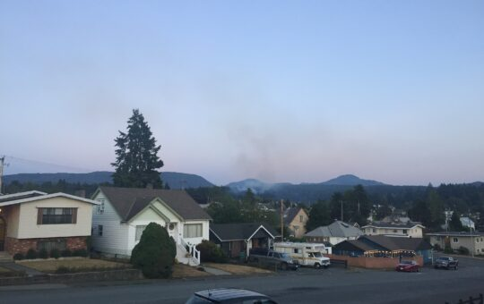 Another fire starts up in Dry Creek – Blankets City in Smoke