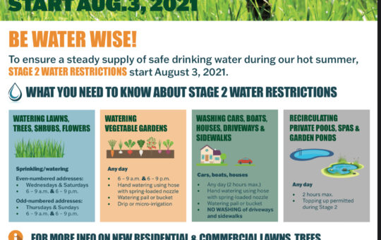 August begins like July – Heatwave and Drought continues – more Water Restrictions in Port Alberni