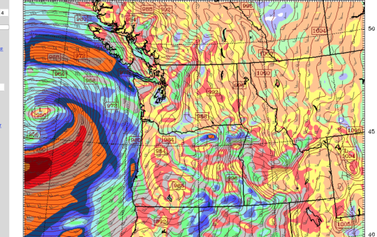 Potentially historic storm coming – Sooner, worse, Monday night better. We wait.